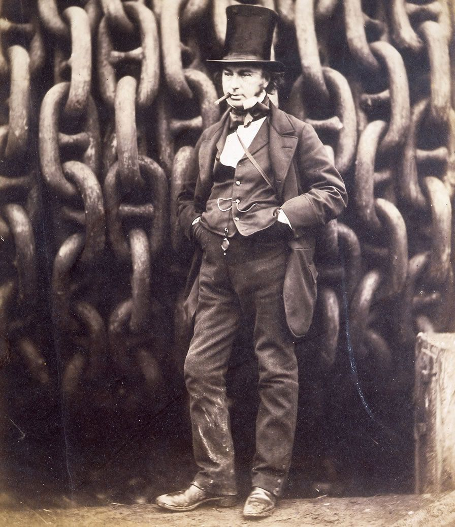 Brunel by some chains